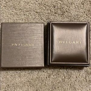 BVLGARI charm necklace box